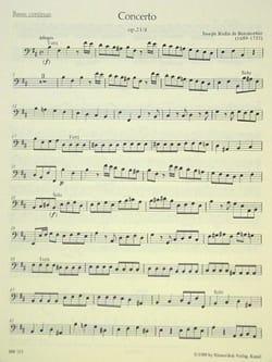 BOISMORTIER - Concerto h-moll for 2 Soloinstrumente Streicher u. Bc - Sheet Music - di-arezzo.co.uk