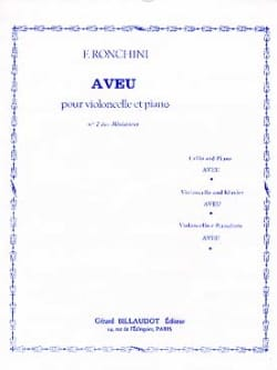 F. Ronchini - confession - Sheet Music - di-arezzo.co.uk