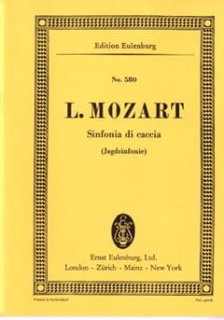 Jagd-Sinfonie G-Dur - Leopold Mozart - Partition - laflutedepan.com