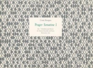 Cesar Bresgen - Prager Sonatine 1 - Sopranblockflöte und Klavier - Sheet Music - di-arezzo.com