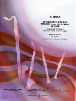 Rose Cyrille / Lancelot Jacques - 20 Major studies - Sheet Music - di-arezzo.co.uk