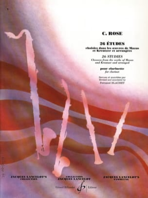 Cyrille Rose - 26 Studies - Sheet Music - di-arezzo.co.uk