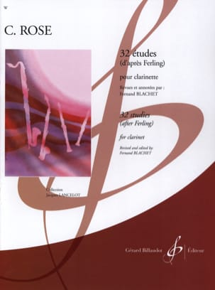 Cyrille Rose - 32 Ferling studies - Sheet Music - di-arezzo.co.uk