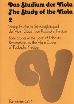 Ulrich Drüner - Das Studium der Viola - Bd. 2 - Partition - di-arezzo.fr