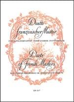 Duette französischer Meister -2 Altblockflöten laflutedepan