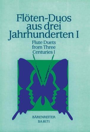 Flötenduos aus 3 Jahrhunderten - Bd. 1 Partition laflutedepan