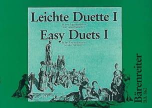 Erich Doflein - Leichte Duette –2 Sopranblockflöten - Partition - di-arezzo.fr