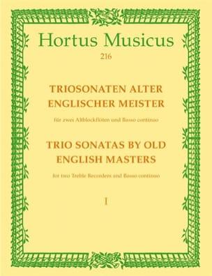- Triosonaten alter englischer Meister - 2 AltblockflötenBc - Sheet Music - di-arezzo.co.uk