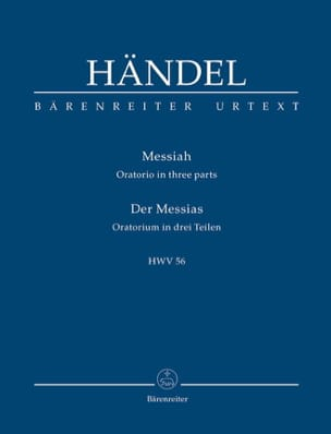 HAENDEL - Der Messias - Partition - di-arezzo.fr