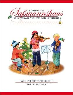 Egon Sassmannshaus - Christmas Book for string quartet - Sheet Music - di-arezzo.co.uk