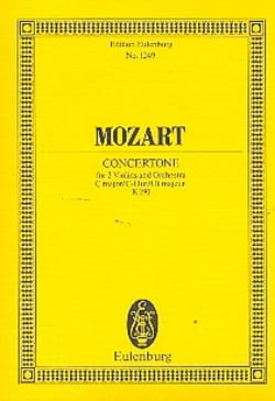 MOZART - Concertone C-Dur KV 190 - Partitur - Sheet Music - di-arezzo.co.uk