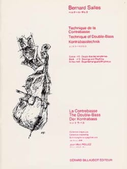 Bernard Salles - Volume 2 Double Bass Technique - Sheet Music - di-arezzo.co.uk