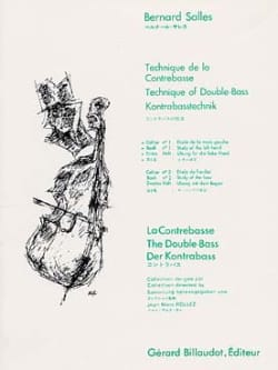 Bernard Salles - Double bass technique Volume 1 - Sheet Music - di-arezzo.com