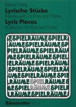 Edvard Grieg - Lyrische Stücke - Flöte Gitarre - Partition - di-arezzo.fr