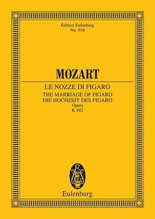 MOZART - Die Hochzeit des Figaro – Partitur - Partition - di-arezzo.fr