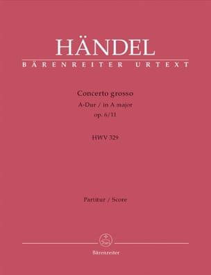 Concerto Grosso A-Dur op. 6/11 – Partitur - laflutedepan.com