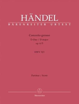 Concerto Grosso D-Dur op. 6/5 – Partitur - laflutedepan.com