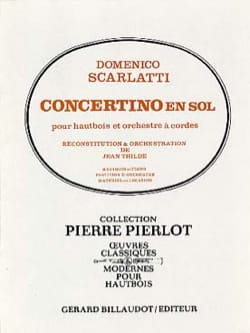 Concertino en sol pour hautbois - laflutedepan.com