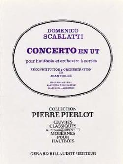 Concerto en Ut - Hautbois et Piano SCARLATTI Partition laflutedepan
