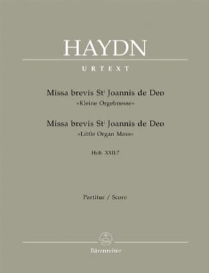 HAYDN - Missa brevis Sancti Joannis de Deo - Hob. 22: 7 - Partitur - Partitura - di-arezzo.es