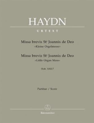 Joseph Haydn - Missa brevis Sancti Joannis de Deo - Hob. 22: 7 – Partitur - Partition - di-arezzo.fr