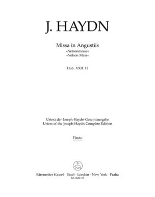 HAYDN - Missa in angustiis Nelson-Messe. Urtext der Haydn-Gesamtausgabe, - Sheet Music - di-arezzo.co.uk