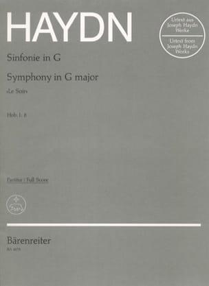 HAYDN - Symphonie Nr. 8 G-Dur Le Soir - Partitur - Partition - di-arezzo.fr
