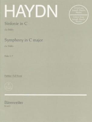 Symphonie Nr. 7 C-Dur Le Midi - Partitur HAYDN Partition laflutedepan