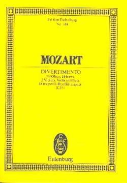 Wolfgang Amadeus Mozart - Divertimento Nr. 11 D-Dur KV 251 – Partitur - Partition - di-arezzo.fr