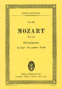Wolfgang Amadeus Mozart - Divertimento Nr. 12 Es-Dur - Partition - di-arezzo.fr