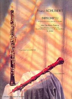 Impromptu op. 90 n° 3 D. 899 -Htb d'amour - laflutedepan.com