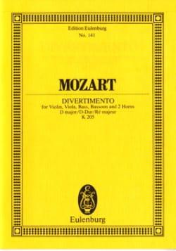 Wolfgang Amadeus Mozart - Divertimento Nr. 7 D-Dur - Partition - di-arezzo.fr