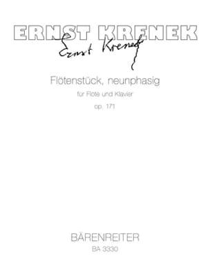 Flötenstück Neunphasig op. 171 - Flöte Klavier - laflutedepan.com