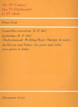 Grand Duo concertant R.-V. 462 / Epithalam R.-V. 466 laflutedepan