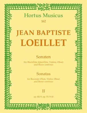 Sonaten - Heft 2 - Blockflöte Flöte, Violine, Oboe u. Bc laflutedepan