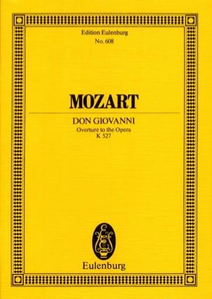MOZART - Don Giovanni, Open House KV 527 - Partitur - Sheet Music - di-arezzo.com