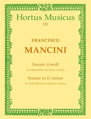 Sonate für Altblockflöte und Basso continuo d-moll laflutedepan