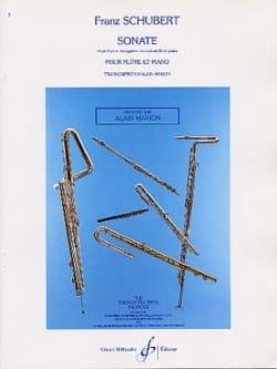Franz Schubert - Sonate Arpeggione - Partition - di-arezzo.fr