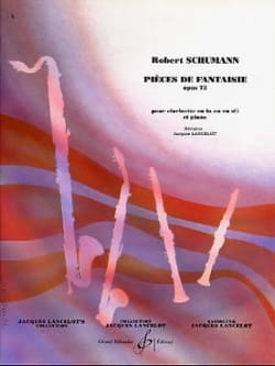 SCHUMANN - Fantasy Pieces op. 73 - Sheet Music - di-arezzo.com