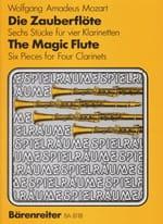 MOZART - Die Zauberflöte – 4 Klarinetten - Partition - di-arezzo.fr