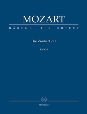 MOZART - The Magic Flute KV 620 - Partitur - Sheet Music - di-arezzo.co.uk