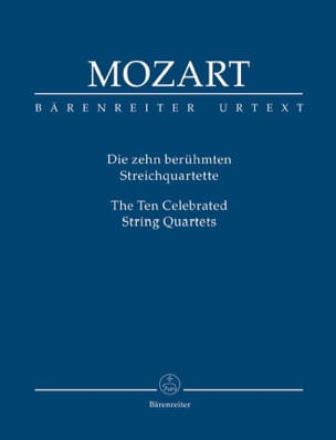 MOZART - The 10 most famous string quartets - conductor - Sheet Music - di-arezzo.co.uk