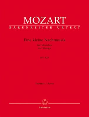 MOZART - Eine kleine Nachtmusik G-Dur KV 525 - Partitur - Sheet Music - di-arezzo.co.uk