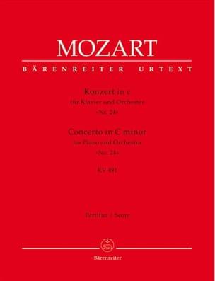 Klavierkonzert c-moll KV 491 – Partitur - laflutedepan.com