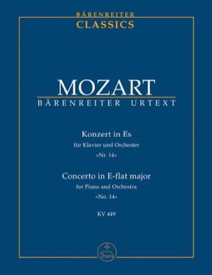 Wolfgang A Mozart - Klavierkonzert Es-Dur - Partition - di-arezzo.fr
