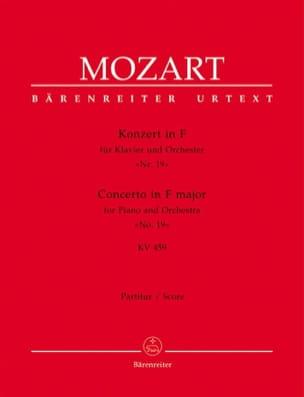 Wolfgang Amadeus Mozart - Klavierkonzert F-Dur KV 459 – Partitur - Partition - di-arezzo.fr
