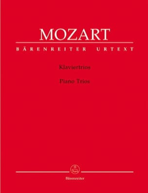 MOZART - three piano strings - Sheet Music - di-arezzo.com