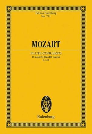 MOZART - Flötenkonzert D-Dur KV 314 - Partitur - Sheet Music - di-arezzo.co.uk