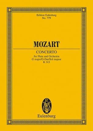 MOZART - Flötenkonzert G-Dur KV 313 - Partitur - Sheet Music - di-arezzo.co.uk
