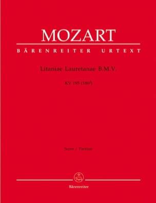 Litaniae Lauretanae B.M.V. KV 195 – Partitur - laflutedepan.com